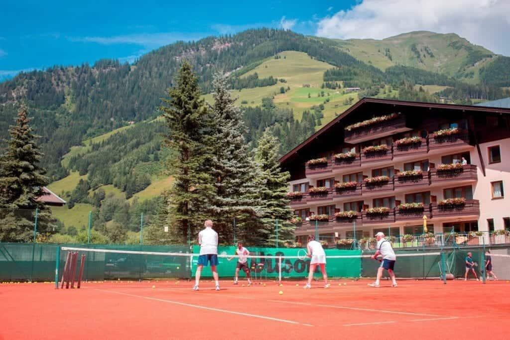 salzburger land tennishotel rauriserhof tennis spiel