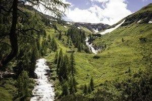 Sommer Raurisertal Quellen Seidlwinkltal