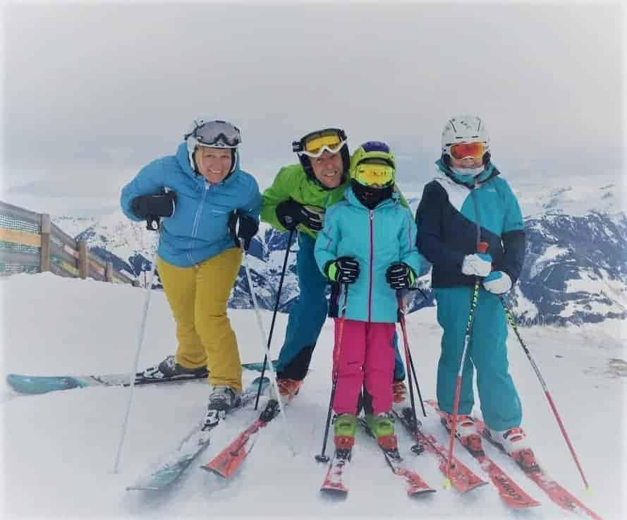 family skiopening